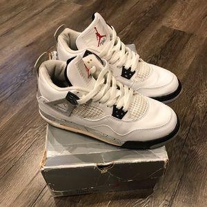 Nike air Jordan retro 4 IV 5.5 youth 7 women